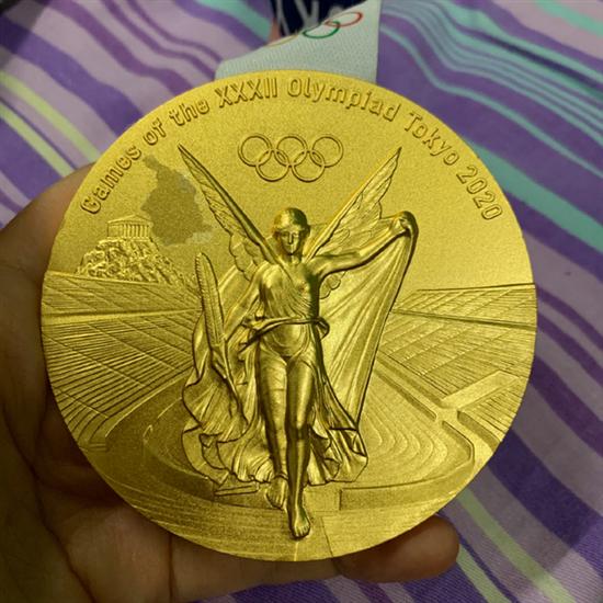被日本市长咬过的奥运金牌已更换:费用由国际奥委会承担