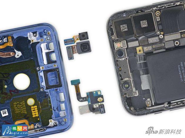 三星S9也有面部識別技術,但與iPhone X實現原理不同