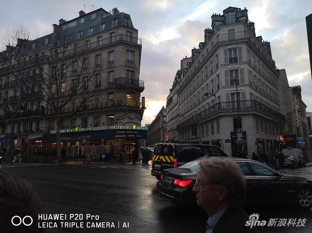 室外样张——巴黎街道