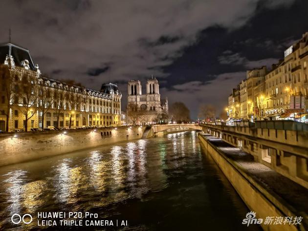 P20 Pro超级夜拍模式拍摄的照片
