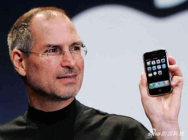 喬布斯和他的iPhone