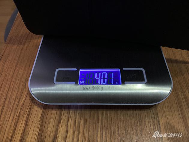 電子秤測量數據
