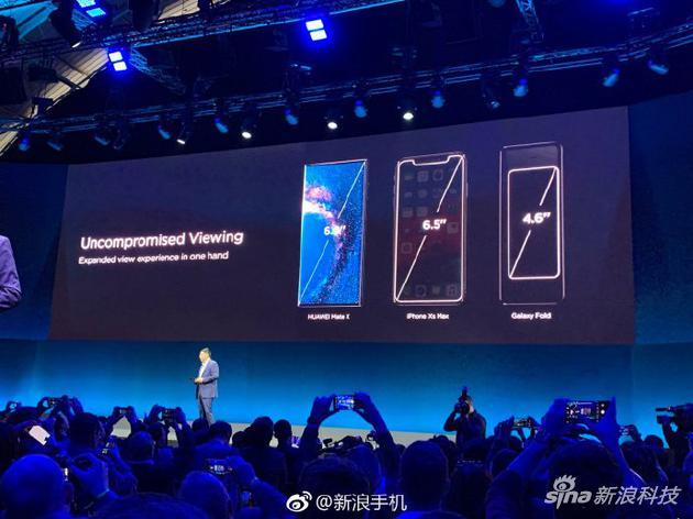 华为MWC19发三款新品:首款5G折叠屏手机亮