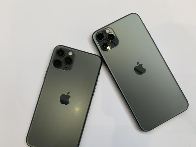 首次搭載3個攝像頭的iPhone