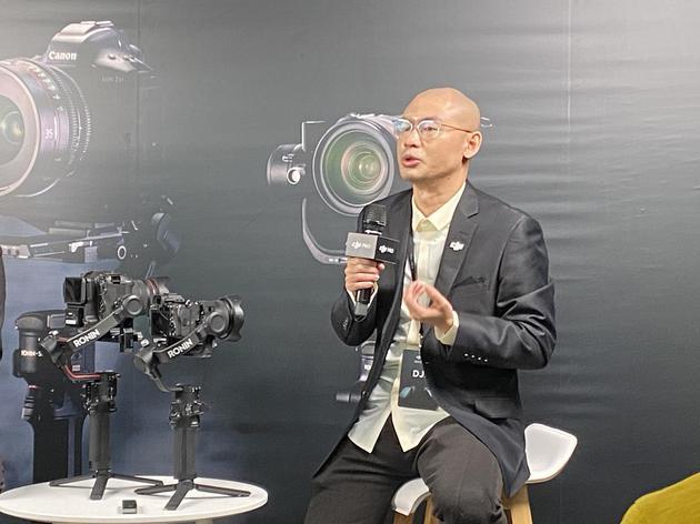 专访大疆谢阗地:从高端到低端 用创新设计满足每个用户的需求