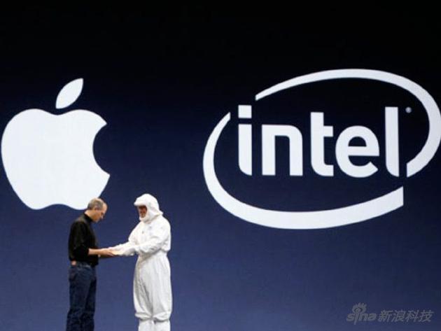苹果与英特尔曾经的蜜月期