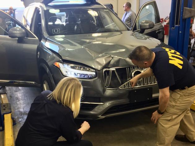 因自驾汽车撞人致死事故 Uber宣布停止亚利桑那州无人车测试项目
