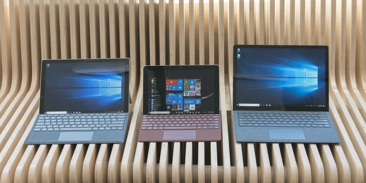 Surface Go新增4+128GB版本:键盘套装售549美元