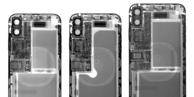 iPhone XS系列拆解:后背玻璃才是维修难点