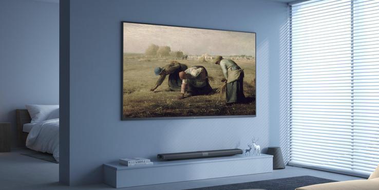 小米壁画电视评测 是电视也是智能家庭入口