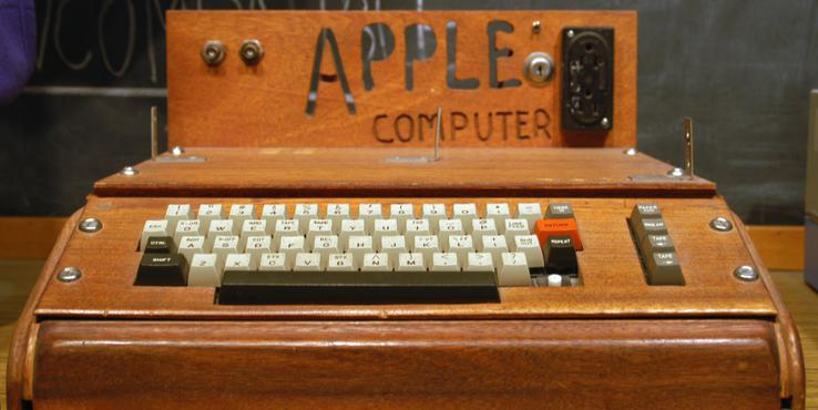 佳士得拍卖罕见Apple I 成交价322万人民币