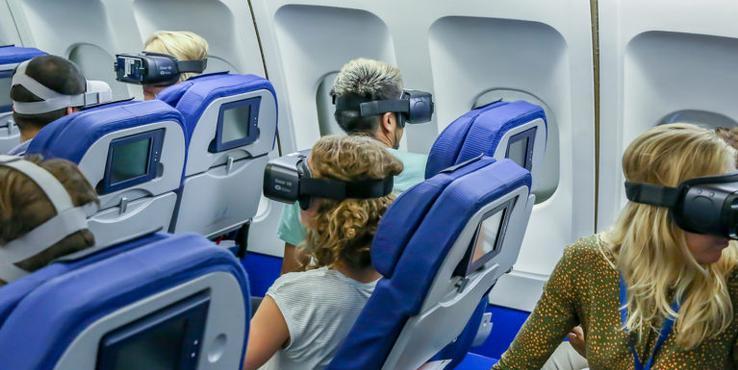 VR上天英国航空公司让头等舱乘客体验虚拟现实