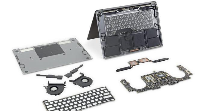 16寸MacBook Pro拆解完整版:散热系统有新意(视频)