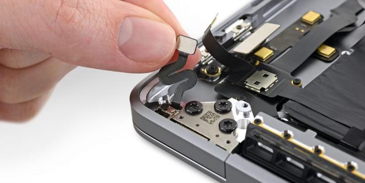 """16寸MacBook Pro拆解新发现:神秘""""传感器""""现身"""