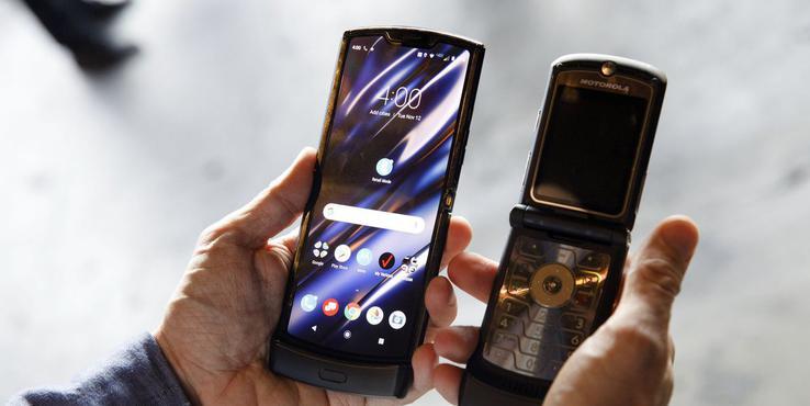 Moto Razr 2019上手体验:一部仿佛穿越而来的手机