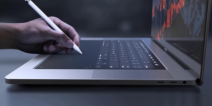 苹果专利曝光触摸屏笔记本:未来的MacBook有戏