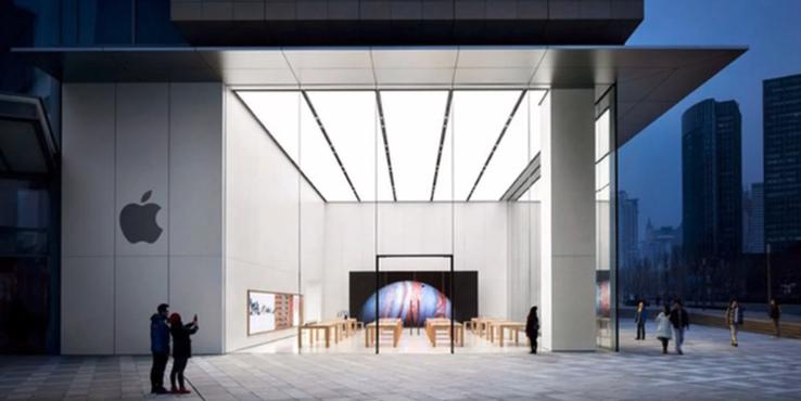 苹果宣布:中国地区又有10家Apple Store恢复营业