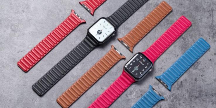 Apple Watch新款皮质回环表带上手体验
