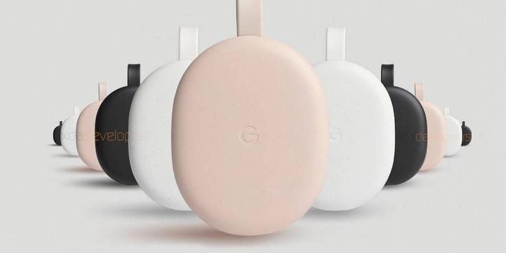 谷歌新款Android TV电视棒曝光:新增粉色 配遥控器