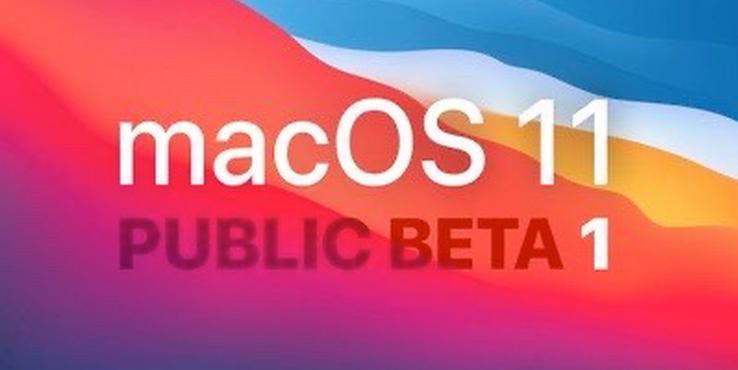 苹果macOS 11 Big Sur公测版发布