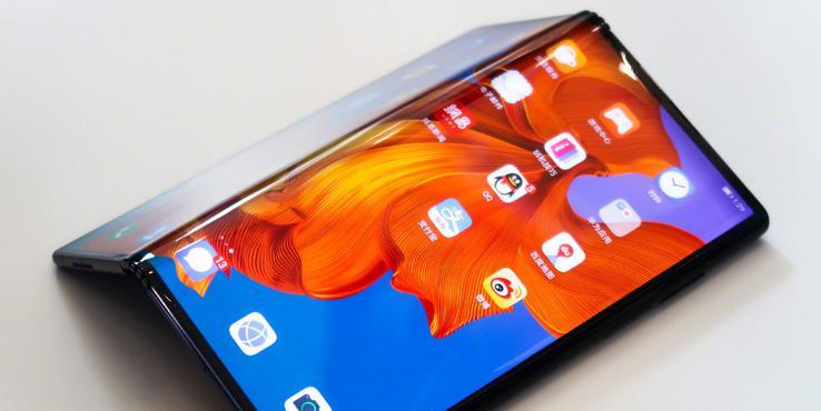 传华为Mate X2屏幕为内折设计 或直接采用三星柔性屏