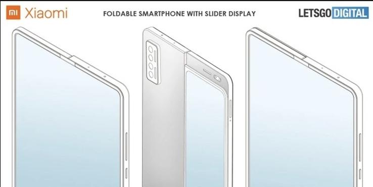 小米折叠屏手机新专利:折叠屏+侧滑屏