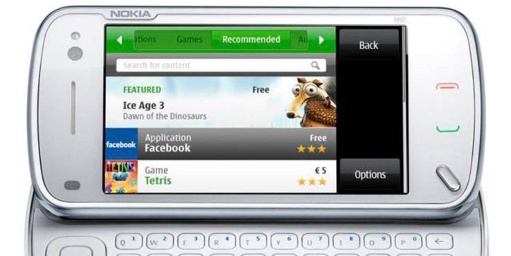 """历史回顾:诺基亚N97本应是"""" iPhone杀手"""" 但它反而杀死了诺基亚"""