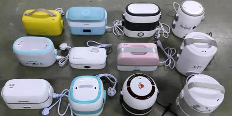 """12款电热饭盒测评:两款出现""""夹生饭"""""""