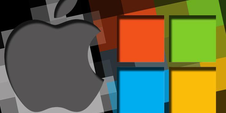 """彭博社:苹果和微软的""""战争""""又开始了"""