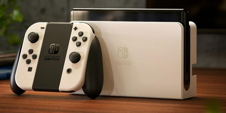 任天堂Switch OLED版首批真机照出炉:10月8日发售