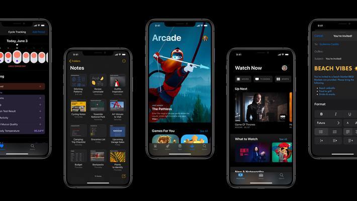 苹果WWDC19:iOS 13黑暗模式广告片