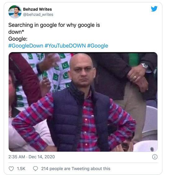 《高德娱乐平台科技频道Google宕机45分钟 全世界网友急疯了!》