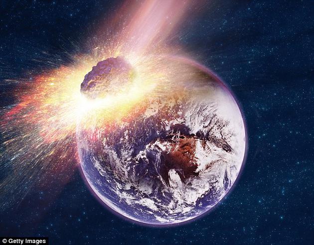 地球历史上发生过多次陨星撞击地球的事件,几次大灭绝事件可能都与这类小天体的撞击事件有关