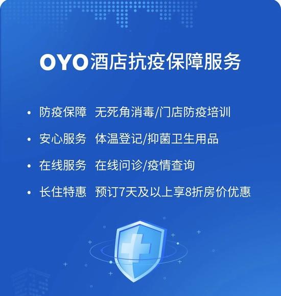 """OYO酒店上线返工用户""""临时家""""项目 长住可8折优惠"""