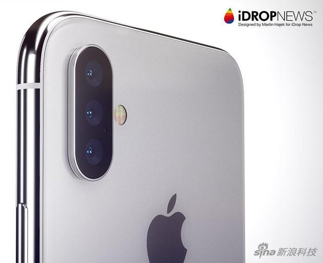 如果iPhone有三镜头,大概这样