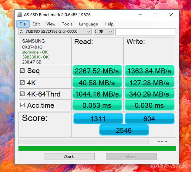 SSD测试