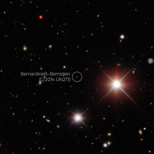 科学家在暗能量中发现目前最大、最遥远的巨彗星