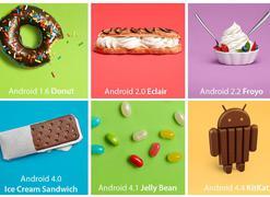 """谷歌扔掉""""甜品"""" 系统命名直接用数字"""