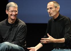 乔布斯造就苹果,库克成就苹果公司