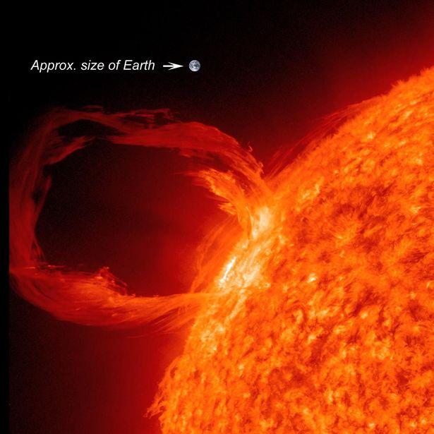 美国航空航天局(NASA)记录到了两次大型的太阳耀斑爆发,并表示随之带来的太阳风暴将在今明两天(3月14日和15日)冲击地球。