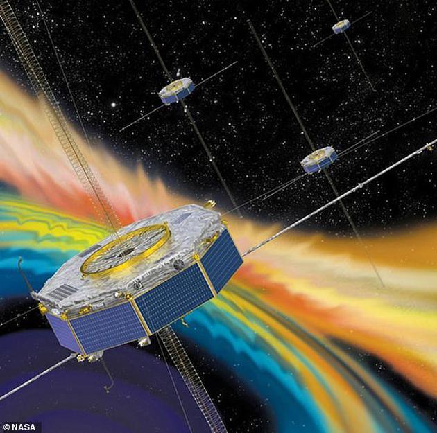"""之前科学家认为,""""朗道阻尼(Landau damping)""""过程负责给太阳风中的电子提供能量,并使星际空间温度升高。目前来自美国宇航局人造卫星观测数据已测量到该过程,并证实了?#23186;?#35770;。"""