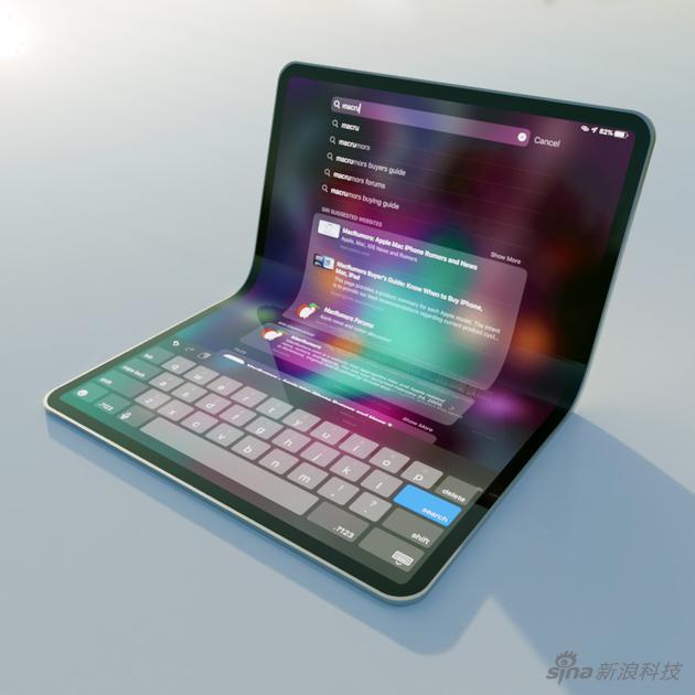 摺疊屏iPad可能這個樣?