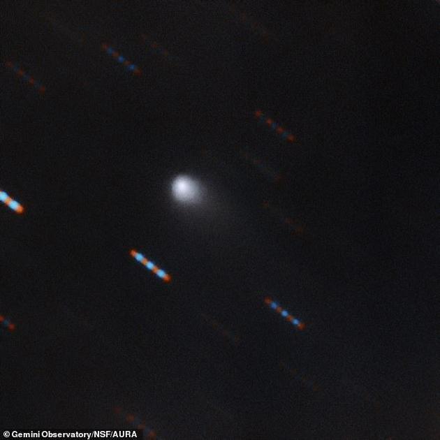 科学家发现太阳系内第二个星际天体:C/2019 Q4彗星彗星太阳系太阳