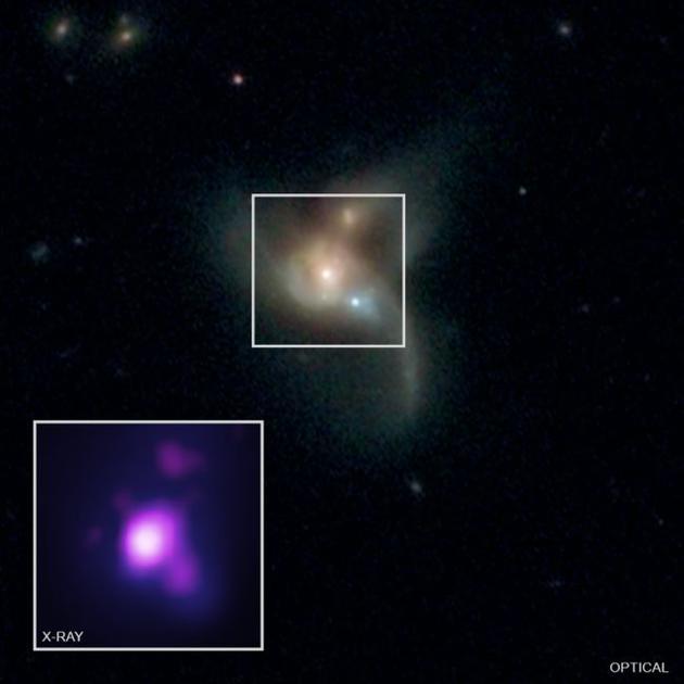 黑洞能合并在一起?最终可组成新的星系系统!黑洞引力波合并