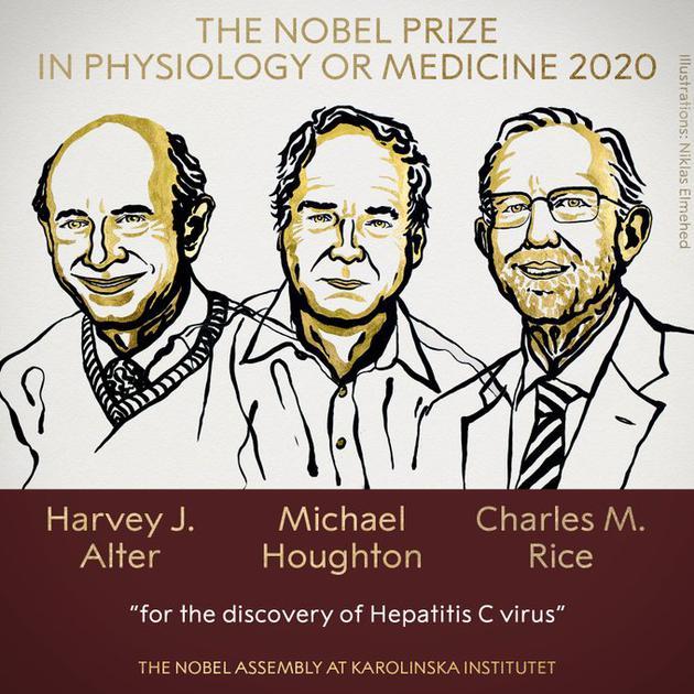 2020诺贝尔生理学或医学奖揭晓:发现丙型肝炎病毒