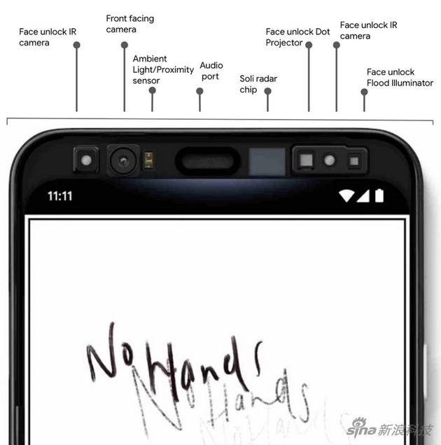 谷歌官方再次自爆Pixel 4:手势识别+面部解锁全配齐