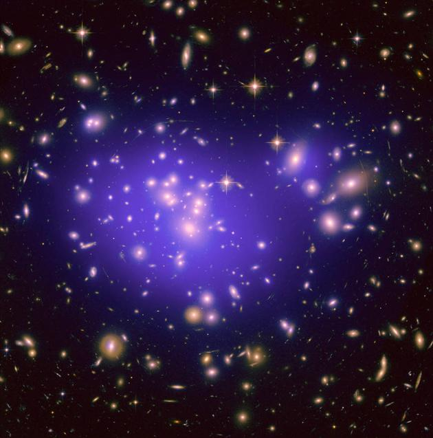 <b>暗物质能组成生命吗?小部分暗物质可能会相互作用</b>