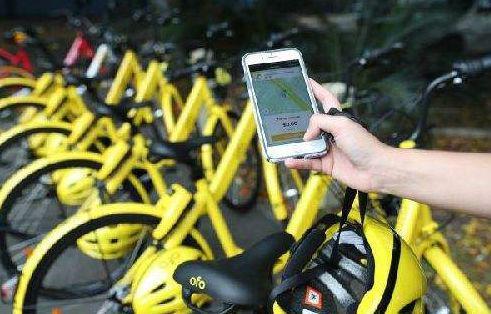 2017年10月26日,在澳大利亚悉尼,一名市民使用ofo小黄车后展示手机付款界面。 图片来源:新华社