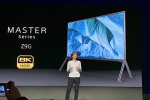 索尼CES发两款电视: 8K成主角