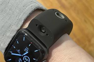 会拍照的Apple Watch表带
